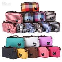 Wholesale New Waistpacks Canvas Cat handbag Shoulder bag Color Satchel Messenger waist fashion lady XB0017