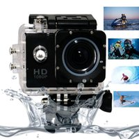 Wholesale new Mp Full HD P WIFI Action Sports Camera IR Remote Control Diving M Waterproof Camcorder for diving hiking surfing freeship