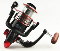 Wholesale Spinning Reel Painting - Fishing Fishing Reels MH1000 11BB Fishing Spinning Reel with metal spool good painting retrieval ratio 5.5 : 1 Free Shipping Good Reels