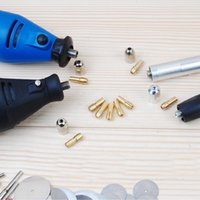 Wholesale New Practical Set Brass Collet Include mm mm mm mm Rotary Tool Fit Dremel Drill