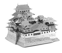 3d puzzles - Puzzle D simulation model of the educational toys puzzles metal for adults Himeji Castle famous buliding