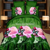 beautiful quilt covers - d bedding set king size beautiful rose style pillowcases quilt cover bedspread bed linen bed sheet bedclothes