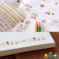 Wholesale 1Set lovely Cartoon Cat Diary Stickers Photo Album Handmade Decoration Sticker for Children Students