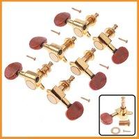 Wholesale Golden Guitar String Tuning Pegs Tuners Machine Heads Tuning Pegs Machine Heads For Guitar set
