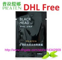 Wholesale 300pcs PILATEN Tearing Style Deep Cleansing Purifying Peel off Blackhead Close Pores Face Mask Remove Cleaner Black Head Facial Mask Nose