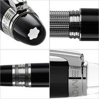 Wholesale 2015 new Classic brand pen StarWalker resin black pen office Ballpoint Pens Gift Set two Free Pen Refill