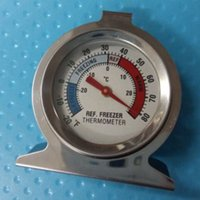 Wholesale Industrial Dail Dial Type Metal Thermometer Temperature Instruments Stainless Steel Thermometer for Refrigerator Fridge Kitchen Freezer