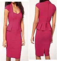 Cheap Long Work Dress Best OL Dresses