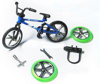 Wholesale Alloy Finger Bikes Extreme Sports Bike Model Toy juguete With DIY Tool Children s Day Toys Novelty Gadgets Kid Gift TY1487