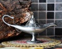 aladdin antiques - Silver tin classic Aladdin Classical aladdin new version trumpet