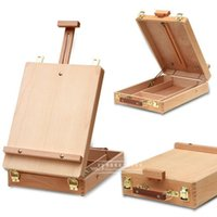 art supplies easel - Bergino Fillet Desktop Laptop Box Easel Painting Hardware Accessories Multifunctional Painting Suitcase Art Supplies For Artist