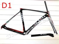 Wholesale T1000 carbon De Rosa SuperKing black red matte glossy road bike frame bicycle frameset bicicleta CYCLING fork seatpost BH g6 time s5