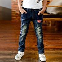 baby boy s jeans - 2015 Autumn Letter Winter Boys Jeans Baby Children Jeans For Boys Pants Children Clothing Baby Clothes Kids Jeans Roupas Infantis