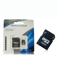 Wholesale Class GB GB C10 SDHC TF SD Memory Card With SD Adapter with package