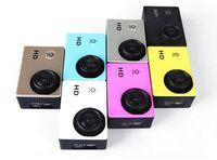 Wholesale SJ4000 digital camcorder Waterproof gopro Sports DV HD Action Sport Camera Car DVR Gopro Style P H Inch LCD NO WIFI