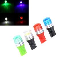 projector lamp bulb - Universal T10 W5W Auto LED Car Brake Light Lamp Bulb Projector Lens Led Rear Tail Light High Power K1474