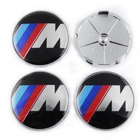 Wholesale M M Auto Car Wheel Center Caps Wheel Covers Hub Cap Badge Emblem Hubcaps mm For BMW Center Cap Replacement