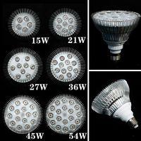 flower bulb - 1X Full Spectrum LED Grow Lights W W W W W E27 LED Grow Lamp PAR Bulb For Flower Plant Hydroponics System Grow Box Spotlight