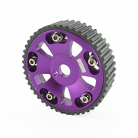 Wholesale CELICA MR2 S GTE PEICE DOHC ALUMINUM CAM SHAFT PERFORMANCE GEAR SPROCKET PURP