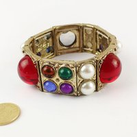 Wholesale hot new fashion jewelry women punk the sweet colorful bracelet