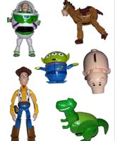 animation story - Animation Cartoon Cute Toy Story Woody Alien Buzz Lightyear Alien Green Action Figure