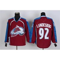 best professional sports jerseys - Avalanche Red Hockey Jerseys Gabriel Landeskog Hockey Wears Hot Sale Sports Jerseys Professional Ice Hockey Jerseys Best Christmas Gift