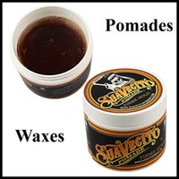 Wholesale 2016 newest Suavecito Pomade Hair Gel Style firme hold Pomades Waxes Strong hold hair oil wax mud with Kylie lip kits younique d fiber