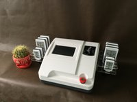 Wholesale Lipolaser Lipolysis Slimming Machine - NEWEST Diode Lipo Laser Lipolaser Lipolysis Slimming Machine Salon Body Shaping Fat Cellulite Removal slimming 10 Pads machine