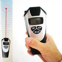 Wholesale High Quality Digital LCD Ultrasonic Tape Laser Point Distance Measure Meter Range Measurer CP UP