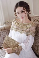 Cheap Reference Images Evening Dresses Best Scoop Chiffon White Evening Dresses