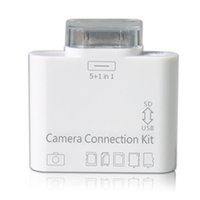 apple ipad camera connection kit - New in Camera Connection Kit Card Reader USB SD Micro T flash TF MS DUO MMC M2 Photo For Apple Iphone s iPad