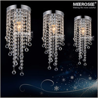 Wholesale Small Crystal Light Chandelier Crystal Lustres Lamp Inch Ceiling Light Stair Crystal Lighting Aisle Porch Corridor Light