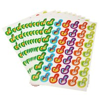 Wholesale New Colorful Thumbs Pattern Reward Stickers School Teacher Praise Children Kids Gift Toy