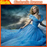 dress factory - Newest Cinderella Dresses Cinderella Prom Dresses Ball Gown Girl Dress Cinderella Dress Cosplay Party Dress Princess Dress factory price