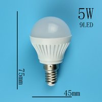 Wholesale Led spot Light Spotlight E14 Led Lamp W W W W SMD LED Bulb V V LED light