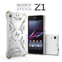cover For Sony Xperia Z2 - Sony Xperia Z1 Z2 Z3 Z4 New Original Design Cool Metal Aluminum Armor THOR IRONMAN protect phone cover shell case