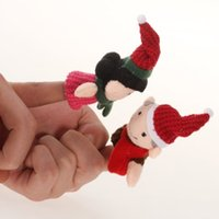 Cheap Wholesale-IMC Wholesale Finger Puppet Dolls Toys Story-telling Props Tools Toy Model Babies Kids Children Toys