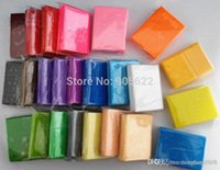 Wholesale 24pc polymer clay fimo soft g pack total g learning education toy play doh polymer clay fimo soft