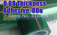 Wholesale 0 mm mm m Green PET Tape Hi Temp PCB Solder Mask Industrial Soldering order lt no track