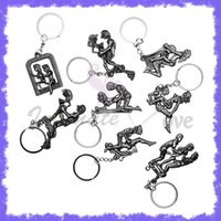 adult decorations - Little Sex Game Toys Erotic Posture Metal Sex Furniture Key Chain Decorations Sex Toys Adult Sex Products