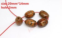 Wholesale Hot Approx mm mm Prayer Mala Tibetan Mystical Agate Dzi Eyes Beads DIY necklace Gift w03474