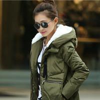 Wholesale 2014 fashion new winter Parka long jacket women warm Jackets wool Parka women winter parka long coat women Down Parkas