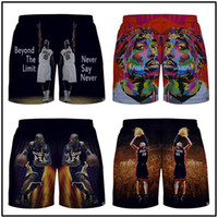 basketball fun - Fun summer fun D effect in street fashion trends in Europe and America five pants net international basketball men and women pants