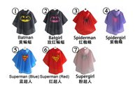 Wholesale china raincoat inch kids raincoats superman batman spiderman supergirl batgirl spidergirl accept mix orders fast delivery
