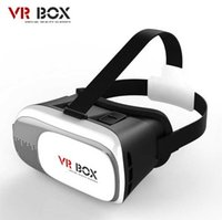 Wholesale VR Box Gamepad Virtual Reality D Glasses Helmet VR BOX Headset For Smartphone with retail packing