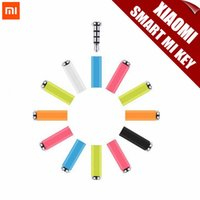 Wholesale Original Xiaomi Mikey Mi Key Smart Quick Button One Click Auxilary Button Gadget Button mm Earphone Jack Dust Plug For Xiaomi