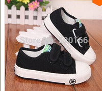 Wholesale Barbara Duck to help low canvas shoes girls shoes boys casual shoes tide dancing white running shoes