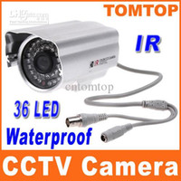Wholesale Hot Sale IR Infrared LED nightvision CCD Color CCTV PAL Security Surveillance Camera not ip camera S151