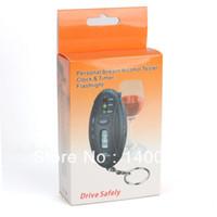 Wholesale NEW Digital LCD Alcohol Breath Tester Analyzer Breathalyzer Detector Keychain