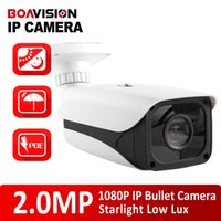 b bullets - 1 IMX291 Sensor MP Outdoor IP Camera With POE P Onvif P2P Cloud B W Lux Full Star Light D N Color Bullet Camera